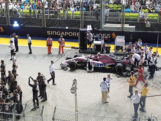 Memorable Achievement at Shell Grand Prix